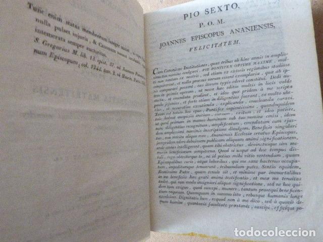 Libros antiguos: JOANNIS DEVOTI, DEI ET APOSTOLICE SEDIS GRATIA... MATRITI, 1819. TYPOGRAPHIA CALLIS VULGO DE LA - Foto 5 - 182951280
