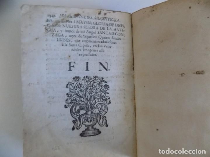 Libros antiguos: LIBRERIA GHOTICA. ANTONIO DE SOLIS. HISTORIA DE NUESTRA SEÑORA DE LA ANTIGUA IGLESIA DE SEVILLA.1739 - Foto 8 - 183029677