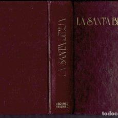 Libros antiguos: LA SANTA BIBLIA EDICIONES PAULINAS. Lote 183265141