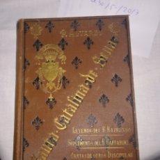 Libros antiguos: SANTA CATALINA DE SENA, 1892, P. ALVAREZ. Lote 183362927