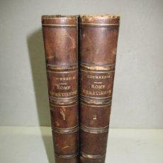 Libros antiguos: ROME CHRÉTIENNE, OU TABLEAU HISTORIQUE DES SOUVENIRS... GOURNERIE, M. EUGÈNE DE LA. 1843.. Lote 183364056