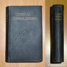 Libros antiguos: BUSQUET, JOSEPHO. THESAURUS CONFESSARII SEU BREVIS ET ACCURATA SUMMULA TOTIUS DOCTRINAE MORALIS. Lote 183471802