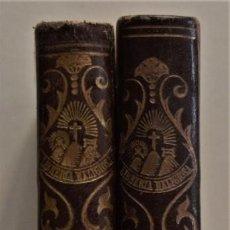 Libros antiguos: CONFESIONES DE SAN AGUSTÍN - TRADUCIDOS POR FR. EUGENIO ZEBALLOS - DOS TOMOS - BARCELONA 1888. Lote 183561948