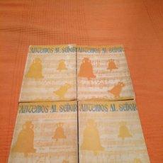 Libros antiguos: CANTEMOS AL SEÑOR. ORDINARIO DE LA MISA EN CASTELLANO Y CATALÁN. 6ª EDICIÓN DE 1966. CCHG. Lote 183543962