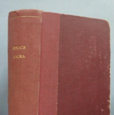 Libros antiguos: 1913.- BIBLIA SACRA. SIXTI V, PONT. MAX ET CLEMENTIS VIII. Lote 183618890