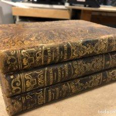 Libros antiguos: EJERCICIO DE PERFECCION Y VIRTUDES CRISTIANAS. PADRE ALONSO RODRIGUEZ. 3 TOMOS. AÑO 1879.. Lote 183746836