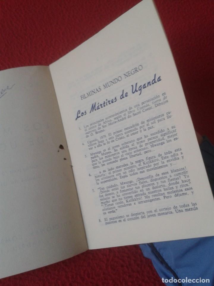 Libros antiguos: PEQUEÑO LIBRO FOLLETO CUADERNILLO GUÍA FASCÍCULO O SIMIL LOS MÁRTIRES DE UGANDA 1964 GUIÓN ... VER F - Foto 3 - 183799702