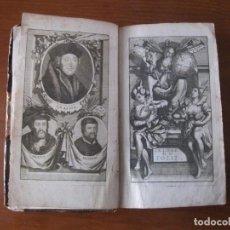 Libros antiguos: L ELOGE DE LA FOLIE, 1713. ERASME DE ROTTERDAM/GUEUDEVILLE. CON GRABADOS. Lote 183813318
