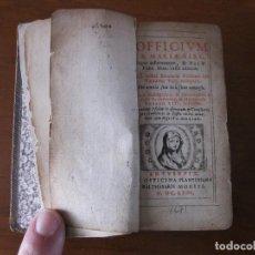 Libros antiguos: LA BIBLIA EN MINIATURA, 1671. MORETI. POSEE GRABADOS. Lote 183815185