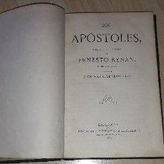 Libros antiguos: LOS APÓSTOLES. ERNESTO RENAN. 1868. Lote 183845563