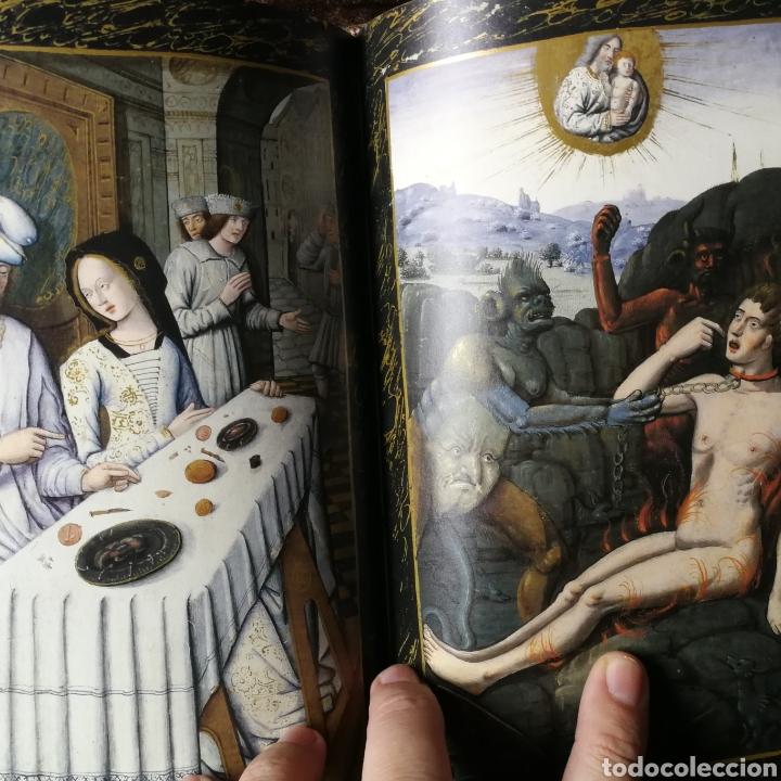 Libros antiguos: Facsímil Libro de Horas de Enrique IV de Francia. Moleiro - Foto 5 - 163766866
