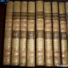 Libri antichi: 9 TOMOS DE HISTORIA DE LA IGLESIA BERAULT-BERCASTEL 1830 --1831---1832 VALENCIA. Lote 184148310