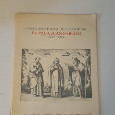 Libros antiguos: MISA DE CLAUSURA DEL IV CENTENARIO DE LA MUERTE DE SANTA TERESA. . Lote 184624391