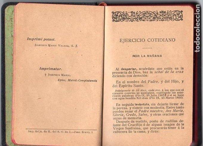 Libros antiguos: DEVOCIONARIO MANUAL *** AÑO 1927 - Foto 3 - 114840463