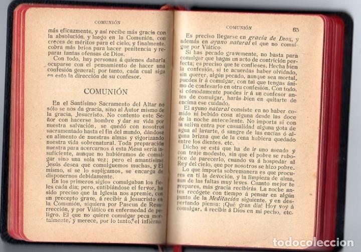 Libros antiguos: DEVOCIONARIO MANUAL *** AÑO 1927 - Foto 4 - 114840463