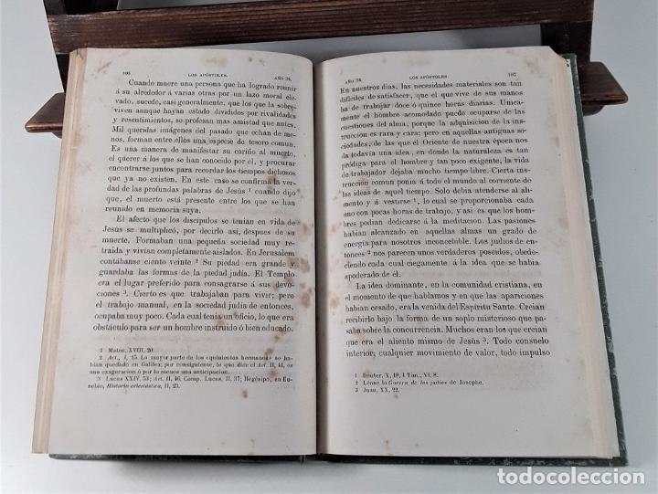 Libros antiguos: LOS APÓSTOLES. ERNESTO RENAN. EDIT. LA ILUSTRACIÓN. BARCELONA. 1868. - Foto 4 - 184699087