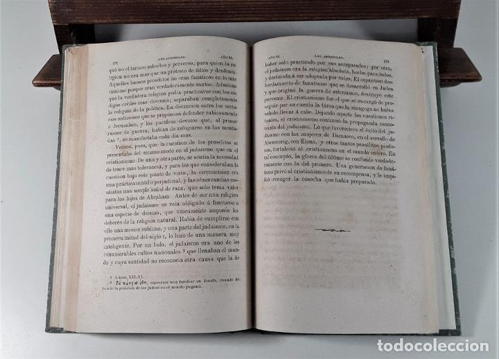 Libros antiguos: LOS APÓSTOLES. ERNESTO RENAN. EDIT. LA ILUSTRACIÓN. BARCELONA. 1868. - Foto 5 - 184699087