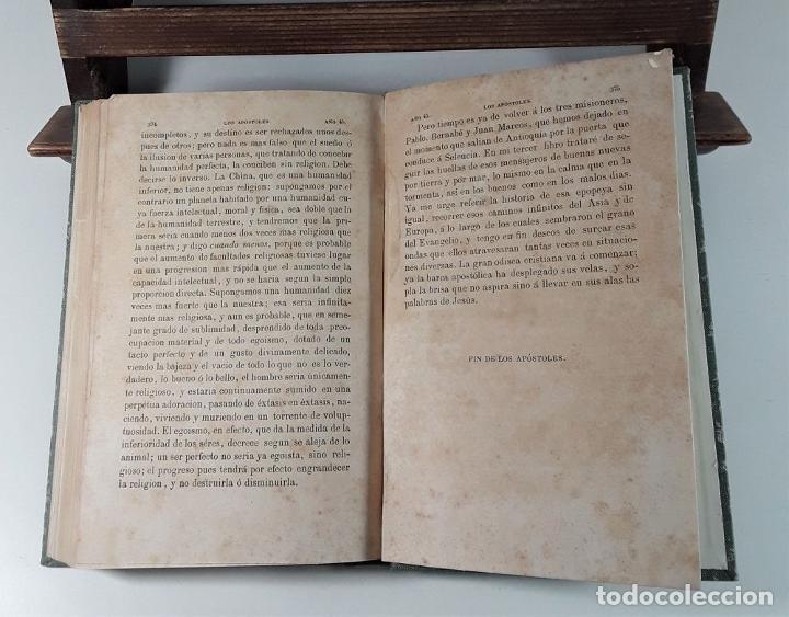 Libros antiguos: LOS APÓSTOLES. ERNESTO RENAN. EDIT. LA ILUSTRACIÓN. BARCELONA. 1868. - Foto 6 - 184699087