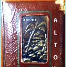 Libros antiguos: LA BIBLIA ILUSTRADA HEBREA CON 125 CUADROS BIBLICOS POR G. DORE. EDIT. 1953 POR SINAI EN ESPAÑOL.. Lote 185741328