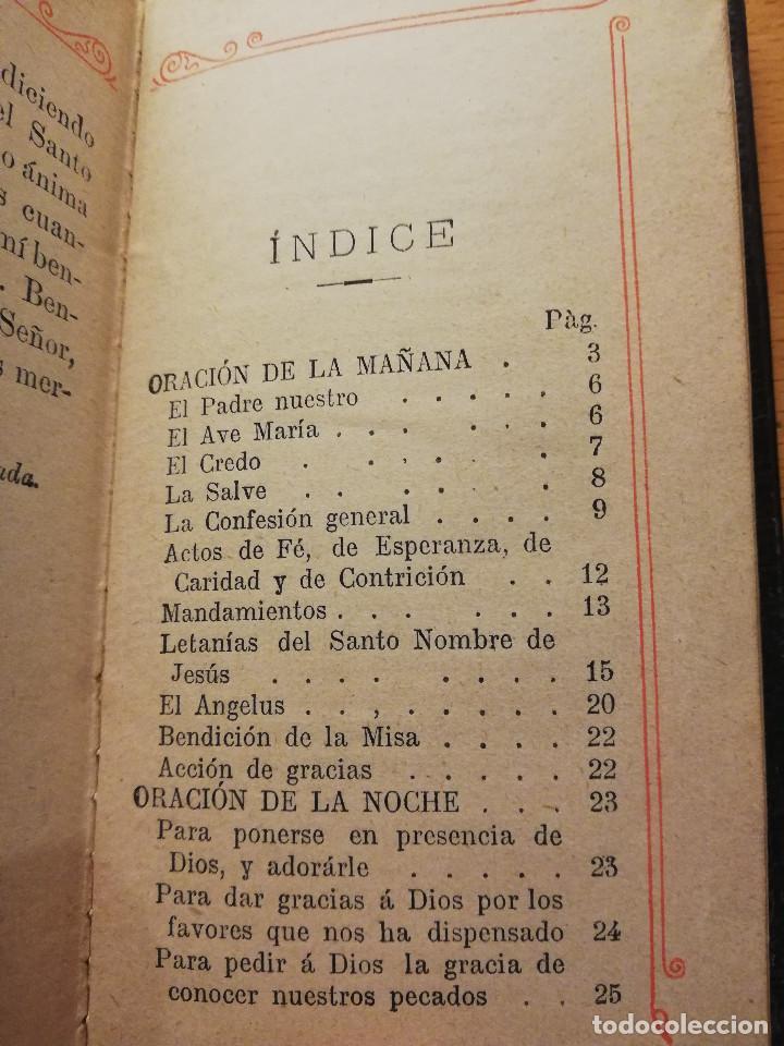 Libros antiguos: EL OFICIO DEL DOMINGO QUE CONTIENE EL ORDINARIO DE LA SANTA MISA Y VARIAS ORACIONES - Foto 3 - 186062261