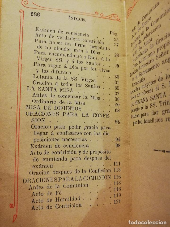 Libros antiguos: EL OFICIO DEL DOMINGO QUE CONTIENE EL ORDINARIO DE LA SANTA MISA Y VARIAS ORACIONES - Foto 4 - 186062261