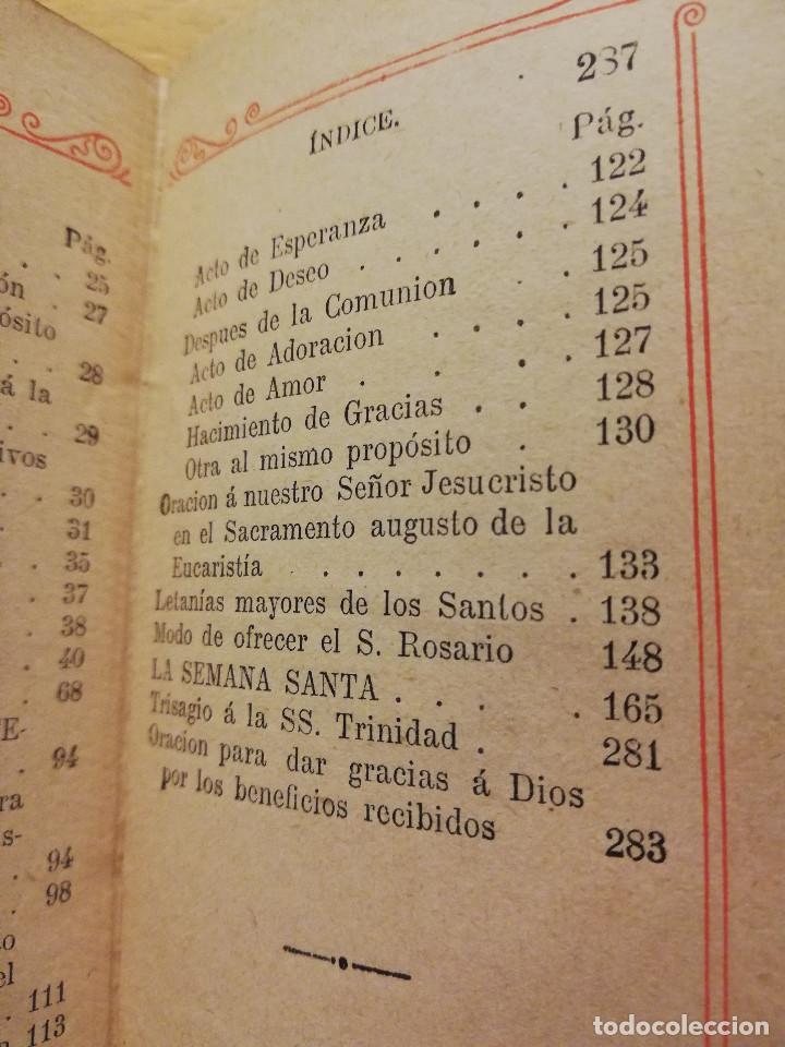 Libros antiguos: EL OFICIO DEL DOMINGO QUE CONTIENE EL ORDINARIO DE LA SANTA MISA Y VARIAS ORACIONES - Foto 5 - 186062261