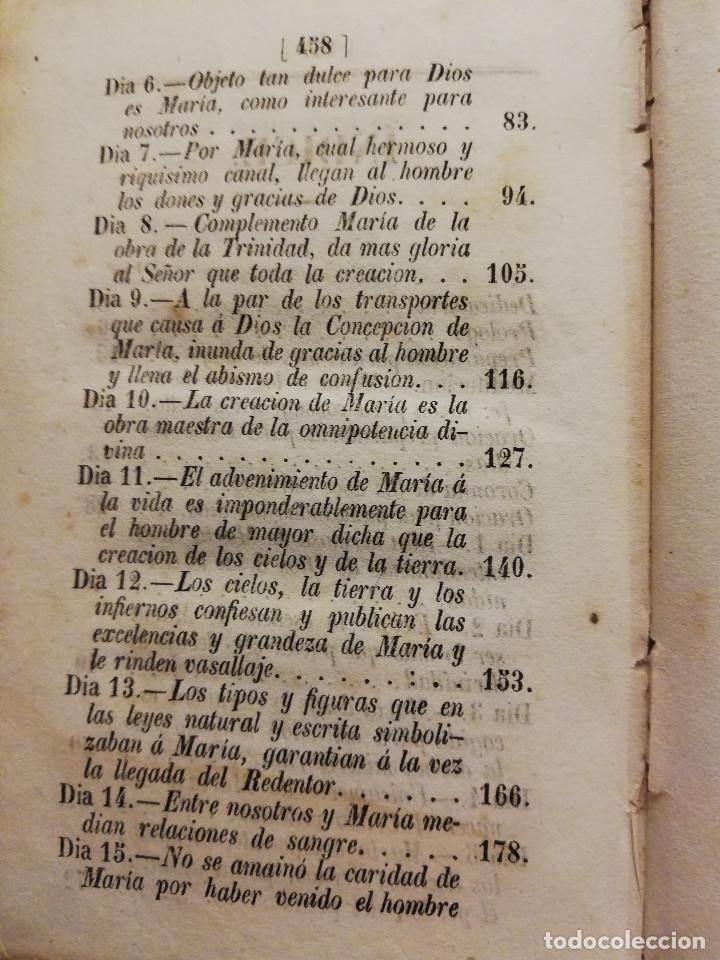Libros antiguos: NUEVE ORACIONES A MARÍA SANTÍSIMA COMPUESTAS POR SAN ALFOSO DE LIGORIO (1859) OPUSCULOS DEVOTOS - Foto 6 - 186068342