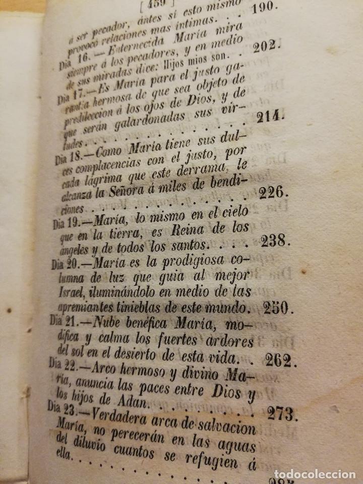 Libros antiguos: NUEVE ORACIONES A MARÍA SANTÍSIMA COMPUESTAS POR SAN ALFOSO DE LIGORIO (1859) OPUSCULOS DEVOTOS - Foto 7 - 186068342