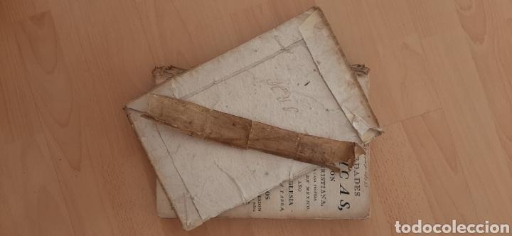 Libros antiguos: Libro religioso siglo XVIII - Foto 3 - 186286906