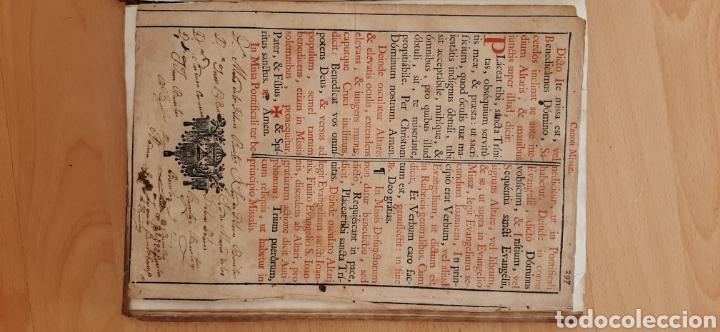 Libros antiguos: Libro religioso siglo XVIII - Foto 4 - 186286906