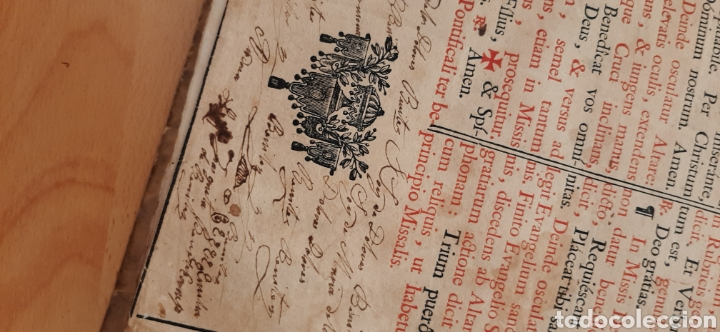 Libros antiguos: Libro religioso siglo XVIII - Foto 5 - 186286906