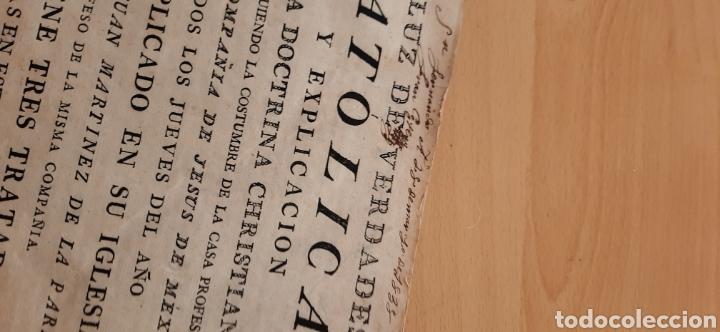 Libros antiguos: Libro religioso siglo XVIII - Foto 7 - 186286906