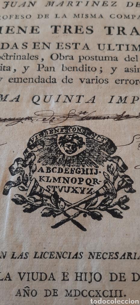 LIBRO RELIGIOSO SIGLO XVIII (Libros Antiguos, Raros y Curiosos - Religión)