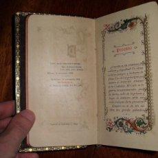 Libros antiguos: LIBRO RELIGIOSO, SIGLO XIX. NUEVO OFICIO DEL DOMINGO. Lote 186288128