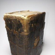 Libros antiguos: BREVIARIUM FRATRUM. B.V. MATIAE DE MONTE CARMELI. PARS AESTIUALIS. OFF. PLANTINIANA. AMBERES. 1730.. Lote 186417856