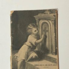 Livres anciens: COMULGAD A LOS SIETE AÑOS . Lote 187628870