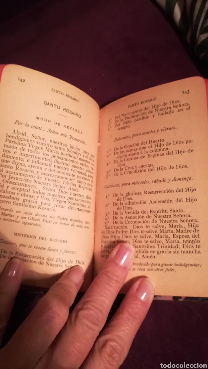 Libros antiguos: Devocionario Manual. 1903. - Foto 4 - 188599536