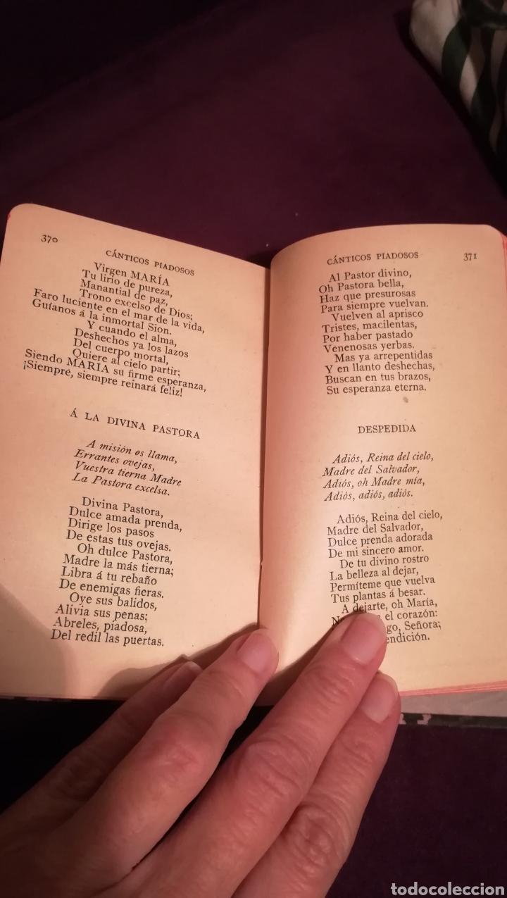 Libros antiguos: Devocionario Manual. 1903. - Foto 6 - 188599536