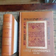 Libros antiguos: CODEX GERUNDENSIS - A.D. 975 - CODICE GIRONA, FAXIMIL NUMERADO Y LIBRO DE ESTUDIO.. Lote 189073887