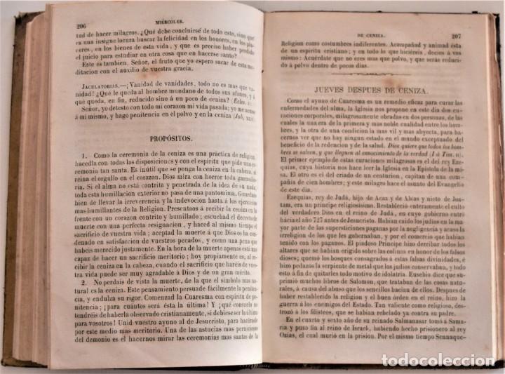 Libros antiguos: LOTE 3 LIBROS RELIGIOSOS, AÑO CRISTIANO CROISSET Y DOS DISCIPLINA ECLESIÁSTICA DE AGUIRRE - Foto 5 - 189085538