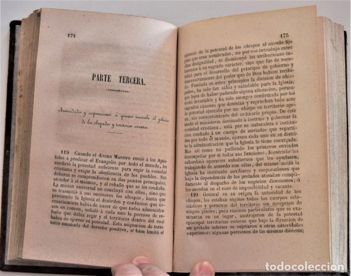 Libros antiguos: LOTE 3 LIBROS RELIGIOSOS, AÑO CRISTIANO CROISSET Y DOS DISCIPLINA ECLESIÁSTICA DE AGUIRRE - Foto 10 - 189085538