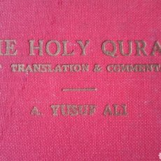 Libros antiguos: THE HOLY QURAN. Lote 189263918