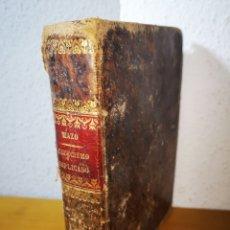 Libros antiguos: 1851 - EL CATECISMO DE LA DOCTRINA CRISTIANA, POR SANTIAGO JOSÉ GARCÍA MAZO. Lote 263799165