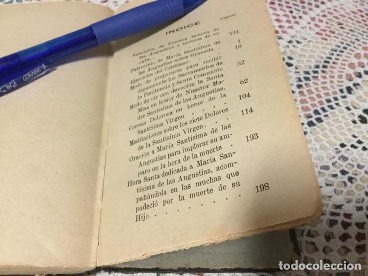 Libros antiguos: EL DEVOTO DE LA VIRGEN DE LAS ANGUSTIAS POR JOSÉ FERNÁNDEZ ARCOYA - Foto 4 - 190000545