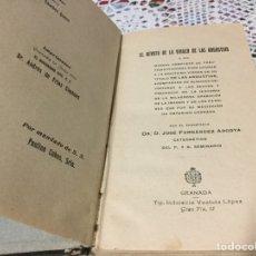 Libros antiguos: EL DEVOTO DE LA VIRGEN DE LAS ANGUSTIAS POR JOSÉ FERNÁNDEZ ARCOYA. Lote 190000545