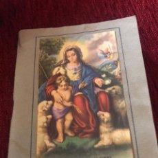 Libros antiguos: DIVINA PASTORA DE LAS ALMAS - LA SANTA MISION - CONSEJOS Y CANTICOS - P.ISIDRO Mª DE SAHAGUN. Lote 190547047