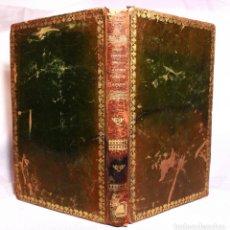 Libros antiguos: SCRIPTURAE SACRAE. CURSUS COMPLETUS. TOMO 28. PARIS. 1845. BELLA ENCUADERNACIÓN EN PIEL VERDE.. Lote 190708346
