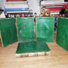 Libros antiguos: DISCURSOS DE JOSÉ AMENGUAL PRESBÍTERO CANÓNIGO SANTA IGLESIA DE MALLORCA . 5 TOMOS . 1839. Lote 190780660