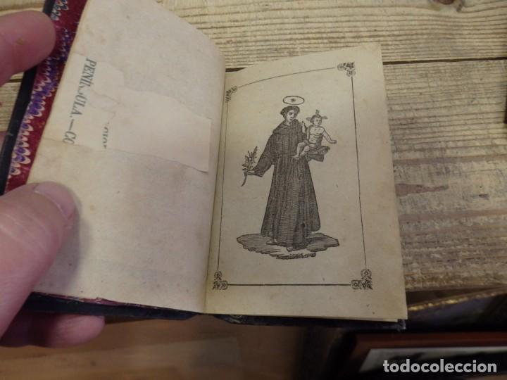 Libros antiguos: SEVILLA, 1858, NOVENA A SAN ANTONIO DE PADUA, 32 PAGINAS - Foto 2 - 191059275