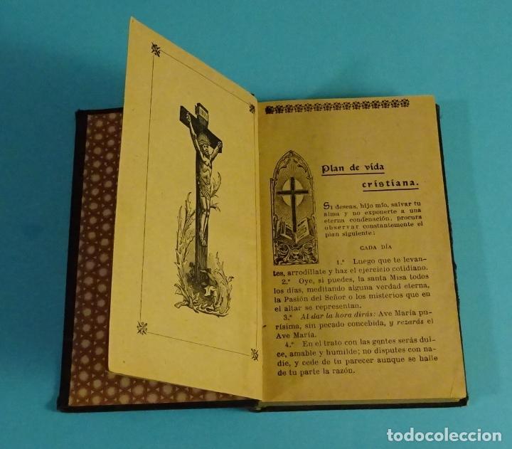 Libros antiguos: COMUNIÓN Y SANTA MISA O MANUAL DEL CRISTIANO. P. FRANCISCO DE P. GARZÓN - Foto 3 - 56393543